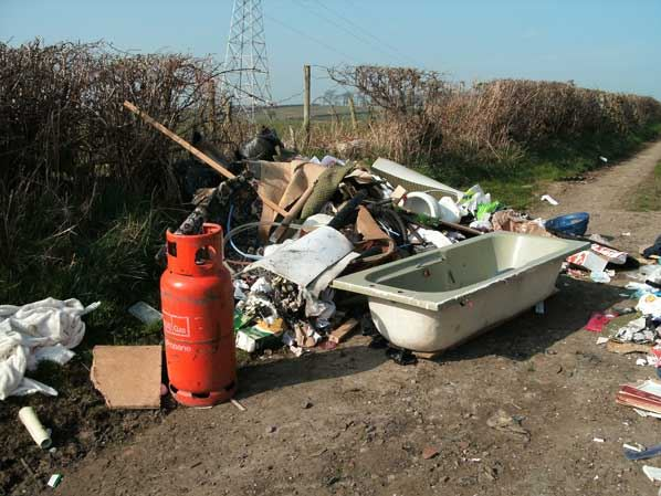 stop fly tipping